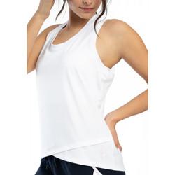 Vêtements Femme Débardeurs / T-shirts sans manche Spyder Débardeur Running pour femme Blanc