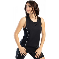 Vêtements Femme Débardeurs / T-shirts sans manche Spyder Long débardeur de sport pour femme Noir