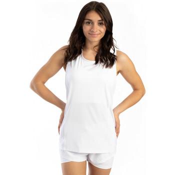 Vêtements Femme Débardeurs / T-shirts sans manche Spyder Long débardeur de sport pour femme Blanc