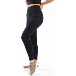 Vêtements Femme Leggings Spyder Legging long de sport pour femme Noir