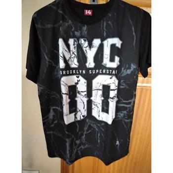 Vêtements Garçon T-shirts manches courtes You mad Tee-shirt YOU MAD Noir