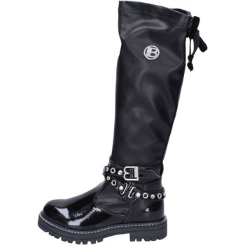 Chaussures Fille Cuissardes Laura Biagiotti BH517 Noir