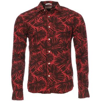 Vêtements Homme Chemises manches longues Scotch & Soda 126978-A Rouge