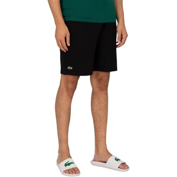 Vêtements Homme Shorts / Bermudas Lacoste Logo Sweat Shorts noir