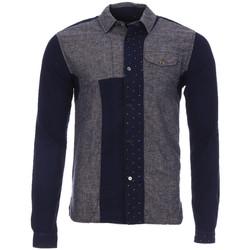 Vêtements Homme Chemises manches longues Scotch & Soda 128097-A Gris