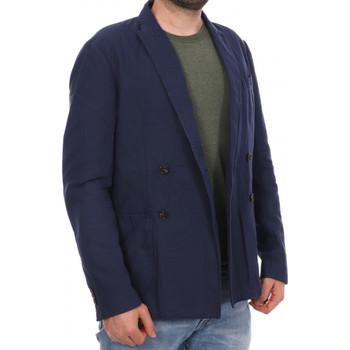 Vêtements Homme Vestes / Blazers Scotch & Soda 136181-155 Bleu