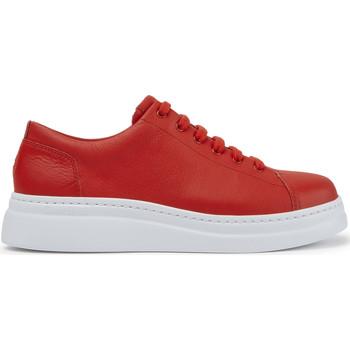 Chaussures Femme Baskets basses Camper Baskets cuir RUNNER UP rouge