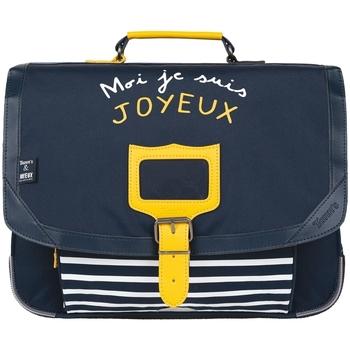 Sacs Enfant Cartables Tann's Cartable 38  Cafe Joyeux marine 38*29*15 Bleu