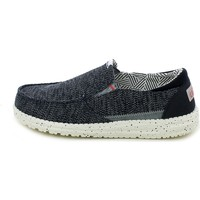 Chaussures Homme Slip ons Hey Dude THAD.06_44 Bleu