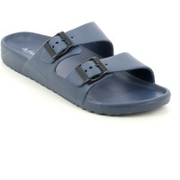 Chaussures Homme Mules Defonseca DELEVANTO.06_42 Bleu
