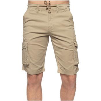 Vêtements Homme Shorts / Bermudas Shilton Bermuda poches coupe droite Beige