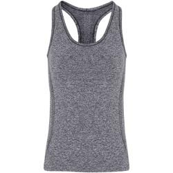 Vêtements Femme Débardeurs / T-shirts sans manche Tridri TR209 Gris