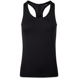 Vêtements Femme Débardeurs / T-shirts sans manche Tridri TR209 Noir
