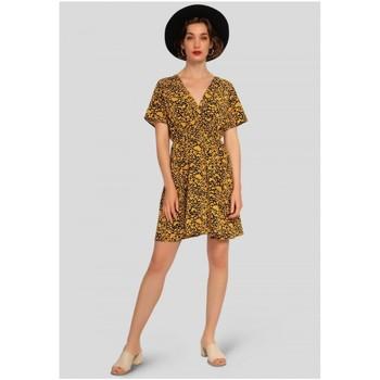 Vêtements Femme Robes courtes Kebello Robe courte Taille : F Jaune S Jaune