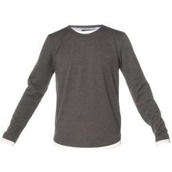 Vêtements Enfant T-shirts & Polos Deeluxe Tee shirt MOHANSON junior gris foncé GRIS ANTHRACITE