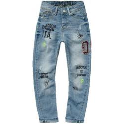 Vêtements Enfant Jeans slim Vingino Jean junior CARLIO bleu Bleu