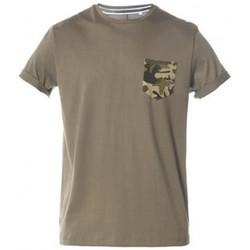 Vêtements Enfant T-shirts & Polos Deeluxe Tee-shirt junior TALK kaki KAKI