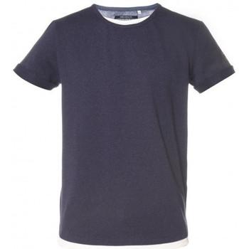 Vêtements Enfant T-shirts & Polos Deeluxe Tee shirt junior MOHAN bleu Bleu