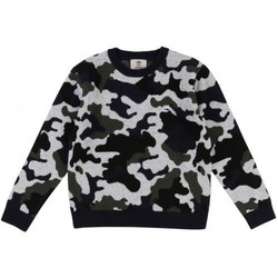 Vêtements Enfant Pulls Timberland Pull junior tricot camouflage T25N28 CAMOUFLAGE