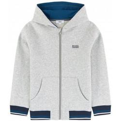 Vêtements Enfant Sweats BOSS Sweat junior Hugo  25c64 gris Gris