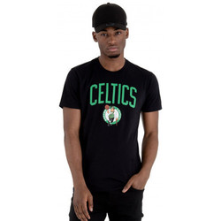Vêtements Homme T-shirts manches courtes New-Era Tee shirt homme Boston Celtics  11546157 noir Noir