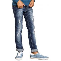 Vêtements Enfant Pantalons Levi's Jean Levis junior skinny desroy Bleu