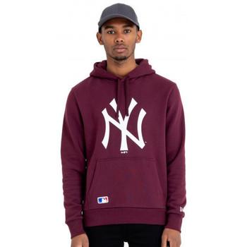 Vêtements Homme Sweats New-Era Sweat homme NEW YORK yankees bordeaux BORDEAUX