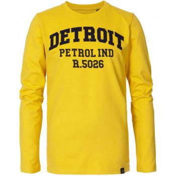 Vêtements Enfant T-shirts & Polos Petrol Industries Tee shirt junior  jaune Jaune