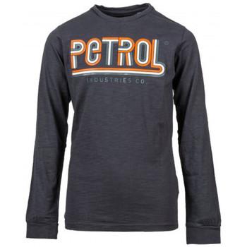 Vêtements Enfant T-shirts & Polos Petrol Industries Tee-shirt junior gris pétrol industries TLR624 Gris
