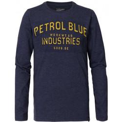 Vêtements Enfant T-shirts & Polos Petrol Industries Tee-shirt junior B-3090-TLR640 bleu PETROL Bleu
