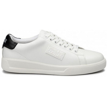 Chaussures Baskets basses Versace Basket homme VERSACE blanche couture Blanc