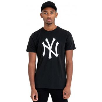 Vêtements T-shirts manches courtes New-Era Tee shirt homme New york Yankkes noir 11863697 Noir