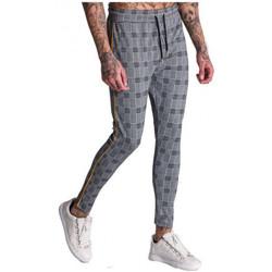 Vêtements Homme Pantalons Gianni Kavanagh Pantalon homme à carreaux Gris