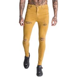 Vêtements Homme Jeans slim Gianni Kavanagh Jean homme marron clair skinny  GKG001510 Marron