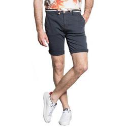 Vêtements Homme Shorts / Bermudas Deeluxe Short homme Chino karma bleu  S20710 Bleu