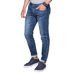 Vêtements Pantalons Deeluxe Jean STEEVE homme  bleu  JG8108 Bleu