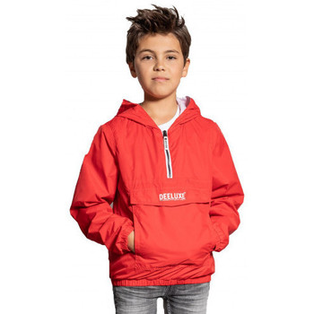 Vêtements Enfant Blousons Deeluxe Veste en-filable junior ELECTRIC  rouge S20607B Rouge