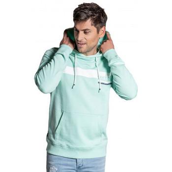 Vêtements Homme Sweats Deeluxe Sweat homme  vert TEQUILA S20524 Vert