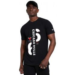 Vêtements Homme T-shirts manches courtes New-Era Tee-shirt homme Chicago Bulls noir 12369783 Noir
