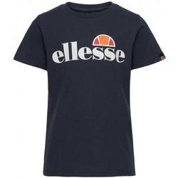 Vêtements Enfant T-shirts & Polos Ellesse Tee-shirt junior  bleu marine  MALIA S3E08578 Bleu