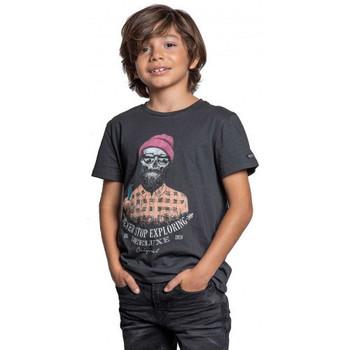 Vêtements Enfant T-shirts & Polos Deeluxe Tee-shirt junior  TELLSON gris Gris