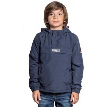 Vêtements Enfant Blousons Deeluxe Veste junior  bleu marine enfilable Bleu