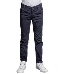 Vêtements Enfant Pantalons Deeluxe Pantalon chino  junior LAWSON BLEU Bleu