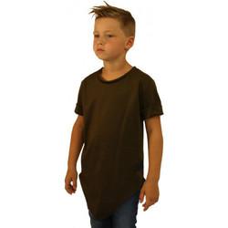 Vêtements Enfant T-shirts & Polos Celebritees Tee-shirt junior Oversize Basic KAKI