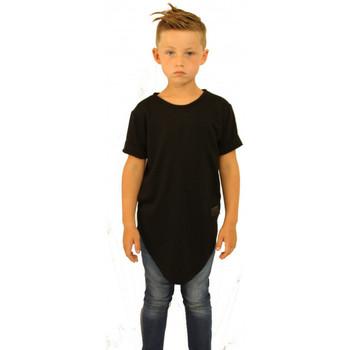 Vêtements Enfant T-shirts & Polos Celebritees Tee-shirt junior Oversize Basic Noir