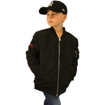 Vêtements Enfant Blousons Deeluxe Bombers junior pray Noir