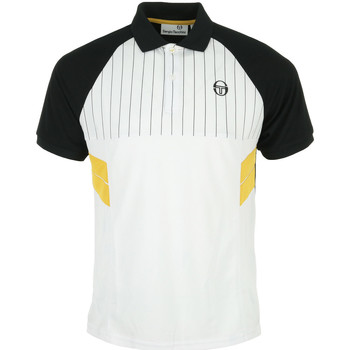 Vêtements Homme Polos manches courtes Sergio Tacchini Andres Polo blanc