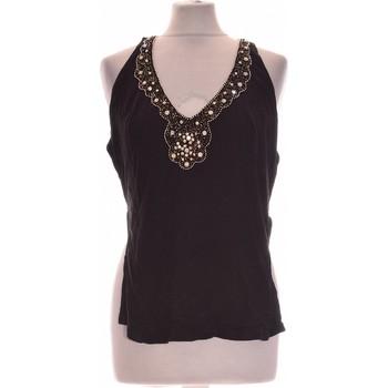 Vêtements Femme Tops / Blouses Twin Set Débardeur  36 - T1 - S Noir