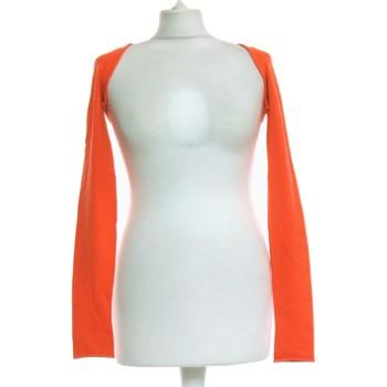 Vêtements Femme Gilets / Cardigans Twin Set Gilet Femme  38 - T2 - M Orange