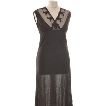 Vêtements Femme Robes longues Twin Set Robe Mi-longue  36 - T1 - S Noir